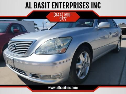 2005 Lexus LS 430 for sale at AL BASIT ENTERPRISES INC in Riverside CA