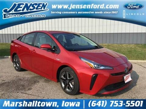 2019 Toyota Prius for sale at JENSEN FORD LINCOLN MERCURY in Marshalltown IA