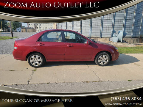 2009 Kia Spectra for sale at Zoom Auto Outlet LLC in Thorntown IN
