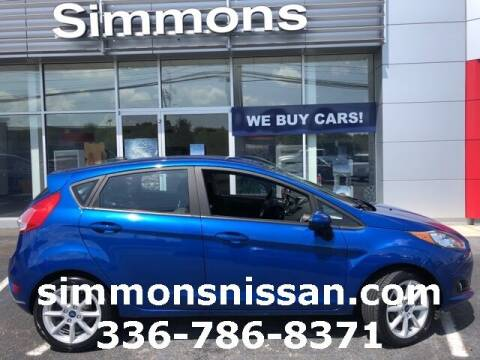 2019 Ford Fiesta for sale at SIMMONS NISSAN INC in Mount Airy NC