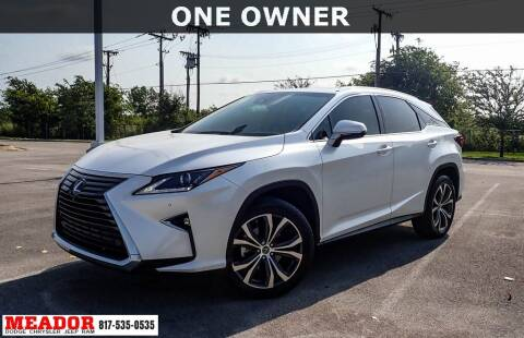 2018 Lexus RX 350 for sale at Meador Dodge Chrysler Jeep RAM in Fort Worth TX