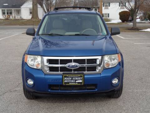 2008 Ford Escape for sale at MAIN STREET MOTORS in Norristown PA
