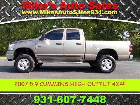 2007 Dodge Ram Pickup 2500 for sale at Mike's Auto Sales in Shelbyville TN