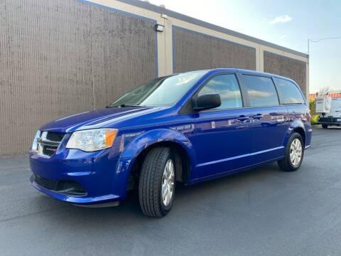 2018 Dodge Grand Caravan for sale at Exelon Auto Sales in Auburn WA