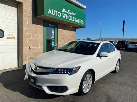 2018 Acura ILX for sale at New England Wholesalers in Springfield MA