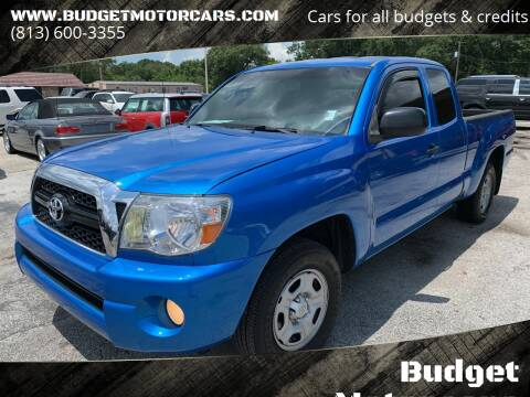 2011 Toyota Tacoma for sale at Budget Motorcars in Tampa FL
