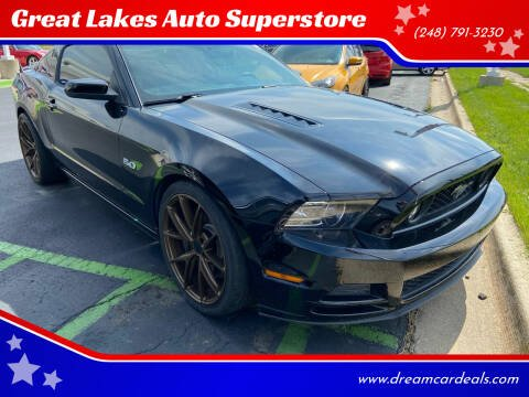 2014 Ford Mustang for sale at Great Lakes Auto Superstore in Waterford Township MI