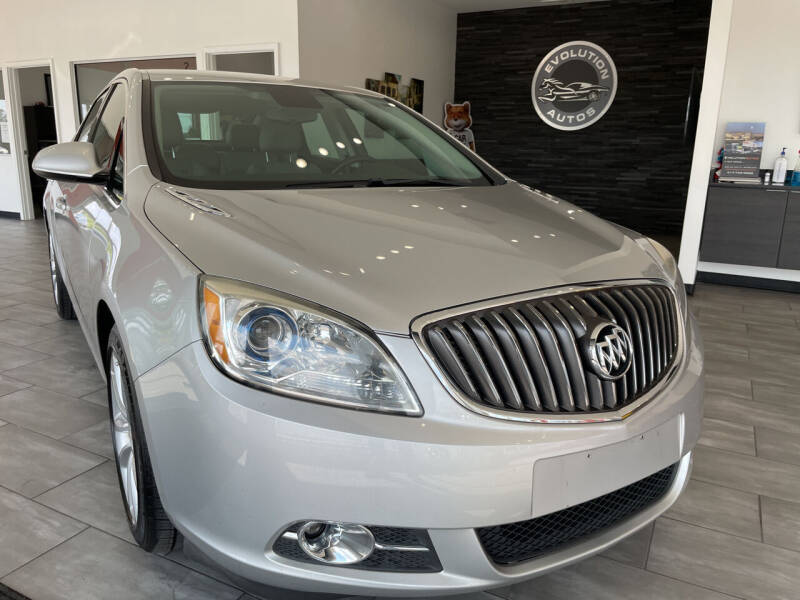 2013 Buick Verano for sale at Evolution Autos in Whiteland IN