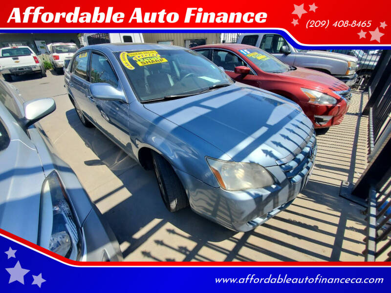 2007 Toyota Avalon for sale at Affordable Auto Finance in Modesto CA