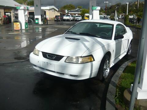 2000 Ford Mustang for sale at Bill's Used Car Depot Inc in La Mesa CA