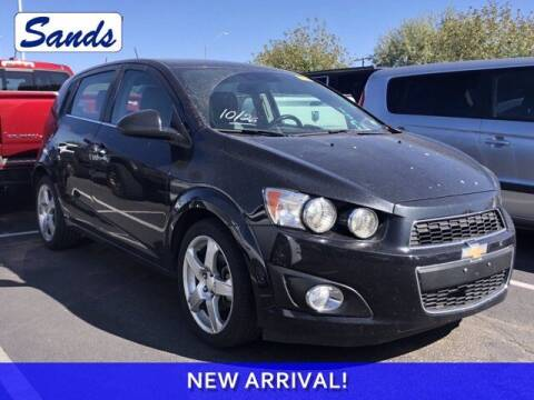 2015 Chevrolet Sonic for sale at Sands Chevrolet in Surprise AZ