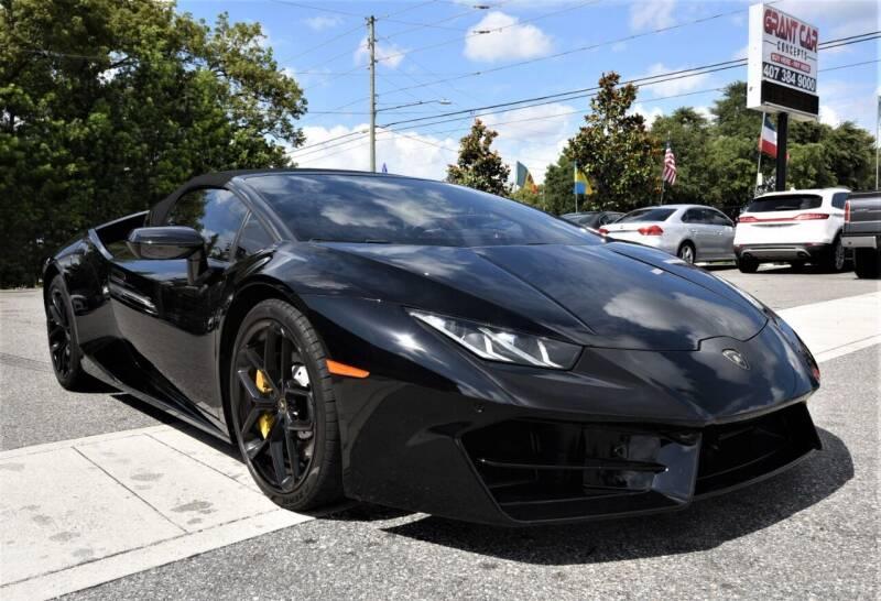 2017 Lamborghini Huracan for sale at Grant Car Concepts in Orlando FL