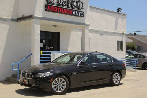 2014 BMW 5 Series for sale at Fastrack Auto Inc in Rosemead CA