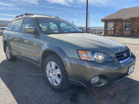 2005 Subaru Outback for sale at BERKENKOTTER MOTORS in Brighton CO