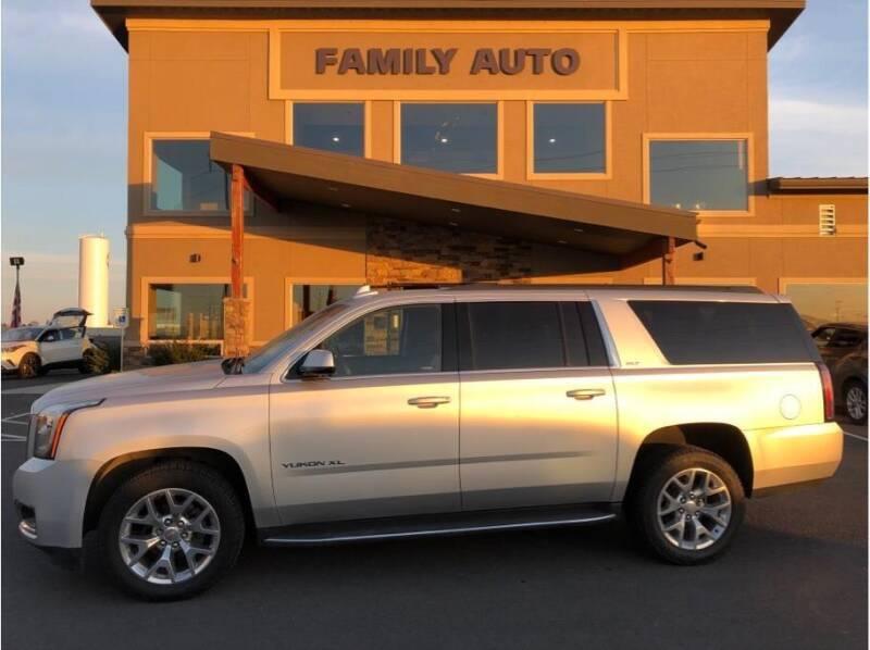 2017 GMC Yukon XL for sale at Moses Lake Family Auto Center in Moses Lake WA