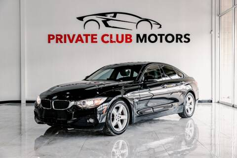 2015 BMW 4 Series for sale at Private Club Motors in Houston TX