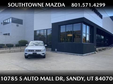 2018 Volkswagen Tiguan for sale at Southtowne Mazda of Sandy in Sandy UT