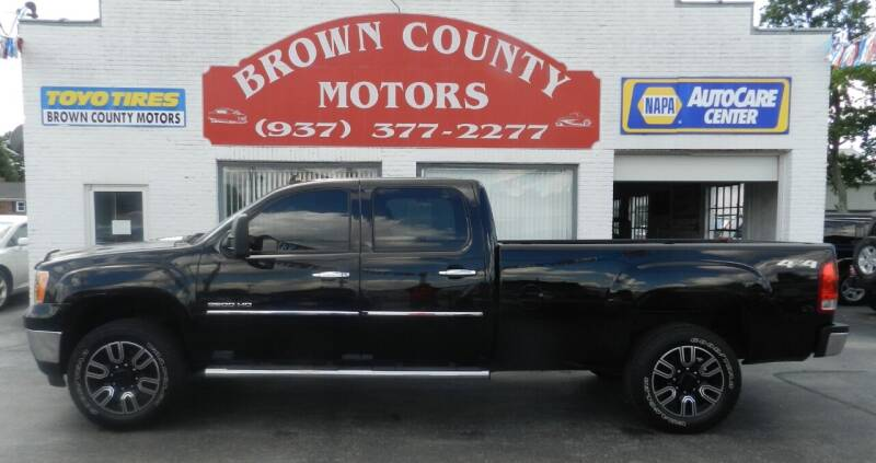 2013 GMC Sierra 2500HD for sale at Brown County Motors in Russellville OH