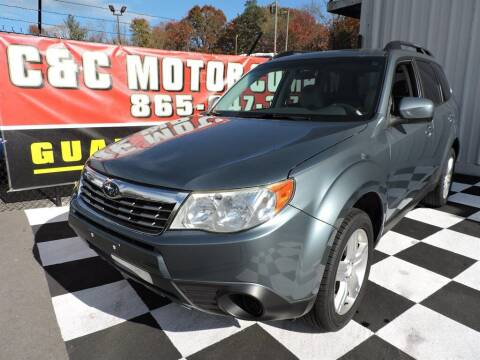 2010 Subaru Forester for sale at C & C Motor Co. in Knoxville TN