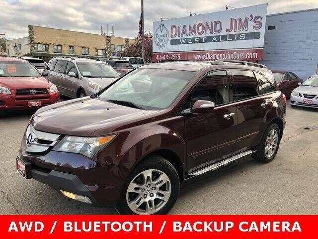 2008 Acura MDX for sale at Diamond Jim's West Allis in West Allis WI