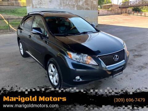 2010 Lexus RX 350 for sale at Marigold Motors, LLC in Pekin IL