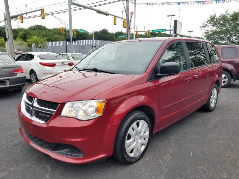2014 Dodge Grand Caravan for sale at Cedar Auto Group LLC in Akron OH