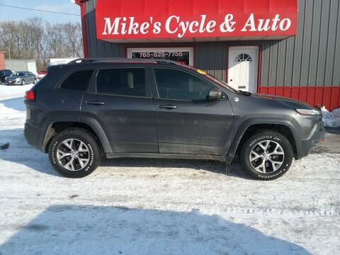 2014 Jeep Cherokee for sale at MIKE'S CYCLE & AUTO in Connersville IN