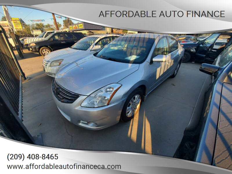 2010 Nissan Altima Hybrid for sale at Affordable Auto Finance in Modesto CA