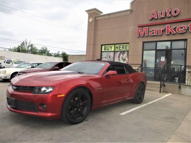 2014 Chevrolet Camaro for sale at Auto Market in Oklahoma City OK