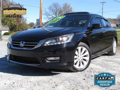 2013 Honda Accord for sale at High-Thom Motors in Thomasville NC