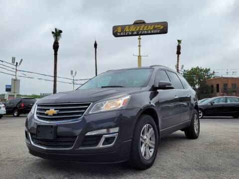 2014 Chevrolet Traverse for sale at A MOTORS SALES AND FINANCE - 6226 San Pedro Lot in San Antonio TX