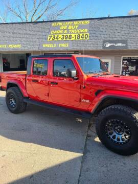 2020 Jeep Gladiator for sale at Kevin Lapp Motors in Flat Rock MI