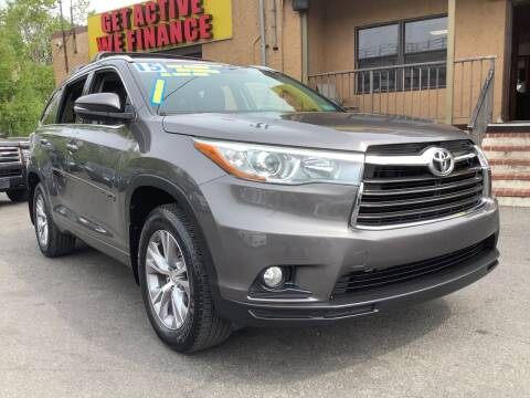 2015 Toyota Highlander for sale at Active Auto Sales Inc in Philadelphia PA