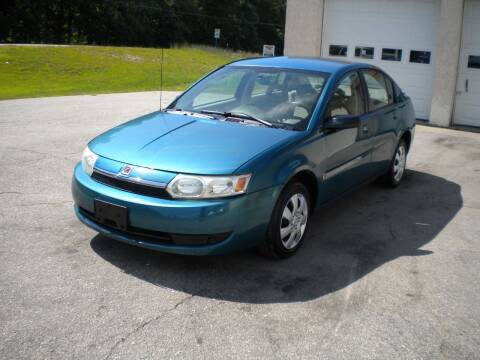 2005 Saturn Ion for sale at Route 111 Auto Sales in Hampstead NH