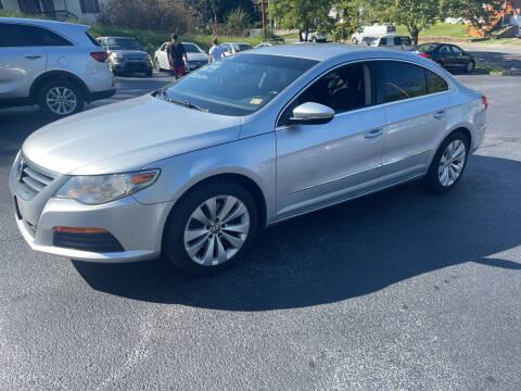 2012 Volkswagen CC for sale at KP'S Cars in Staunton VA