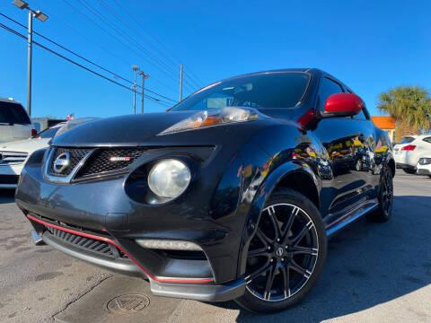 2013 Nissan JUKE for sale at LATINOS MOTOR OF ORLANDO in Orlando FL