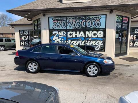 2009 Chevrolet Impala for sale at Kentucky Auto Sales & Finance in Bowling Green KY