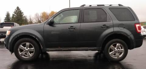 2009 Ford Escape for sale at Hilltop Auto in Clare MI