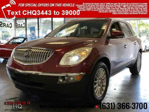 2010 Buick Enclave for sale at CERTIFIED HEADQUARTERS in Saint James NY