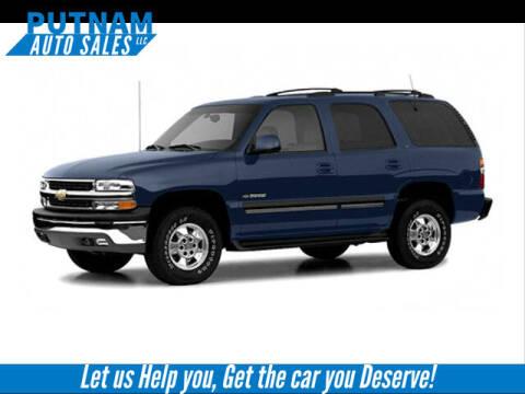 2004 Chevrolet Suburban for sale at PUTNAM AUTO SALES INC in Marietta OH