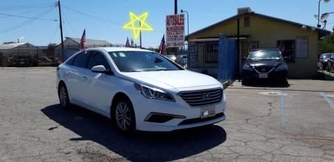 2016 Hyundai Sonata for sale at Autosales Kingdom in Lancaster CA