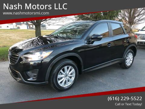 2016 Mazda CX-5 for sale at Nash Motors LLC in Hudsonville MI