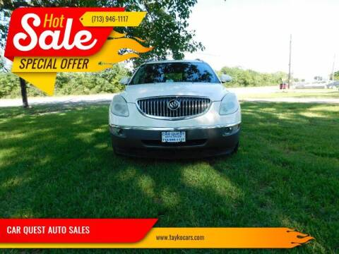 2009 Buick Enclave for sale at CAR QUEST AUTO SALES in Houston TX