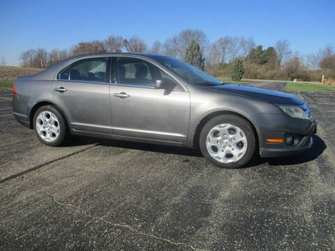 2010 Ford Fusion for sale at Crossroads Used Cars Inc. in Tremont IL
