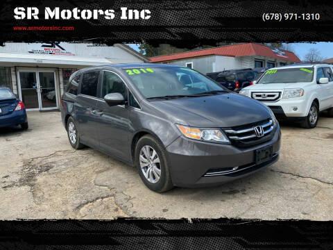2014 Honda Odyssey for sale at SR Motors Inc in Gainesville GA