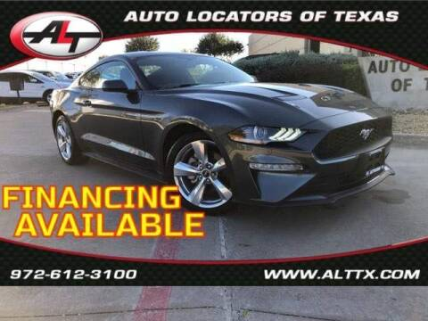2019 Ford Mustang for sale at AUTO LOCATORS OF TEXAS in Plano TX