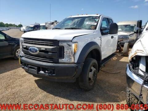 2017 Ford F-550 Super Duty for sale at East Coast Auto Source Inc. in Bedford VA