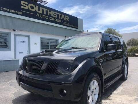 2005 Nissan Pathfinder for sale at Southstar Auto Group in West Park FL