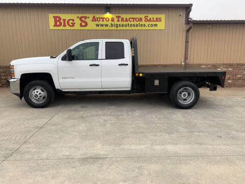 2015 Chevrolet Silverado 3500HD for sale at BIG 'S' AUTO & TRACTOR SALES in Blanchard OK