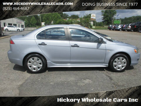 2010 Mitsubishi Lancer for sale at Hickory Wholesale Cars Inc in Newton NC